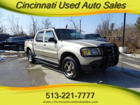 2004 Ford Explorer Sport Trac for sale at Cincinnati Used Auto Sales in Cincinnati OH