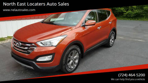 2013 Hyundai Santa Fe Sport for sale at North East Locaters Auto Sales in Indiana PA