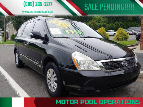 2012 Kia Sedona for sale at Motor Pool Operations in Hainesport NJ