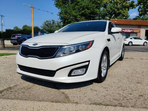 2015 Kia Optima for sale at Lamarina Auto Sales in Dearborn Heights MI