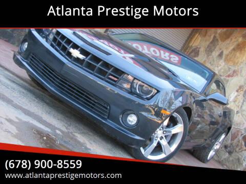 2013 Chevrolet Camaro for sale at Atlanta Prestige Motors in Decatur GA