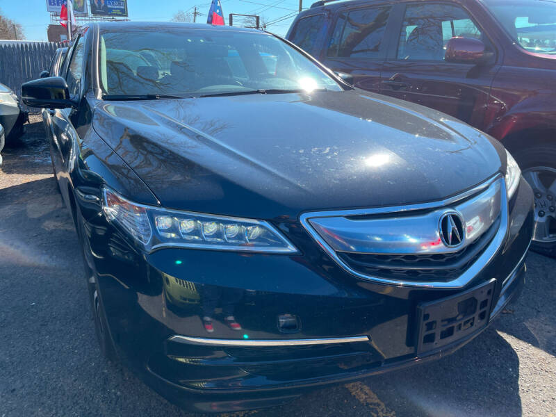 2017 Acura TLX for sale at GRAND USED CARS  INC in Little Ferry NJ