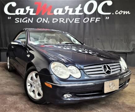2004 Mercedes-Benz CLK for sale at CarMart OC in Costa Mesa, Orange County CA