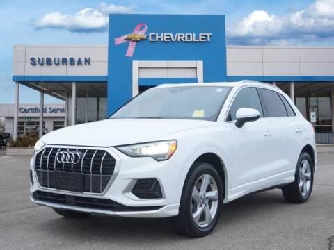 2020 Audi Q3 for sale at Suburban Chevrolet of Ann Arbor in Ann Arbor MI