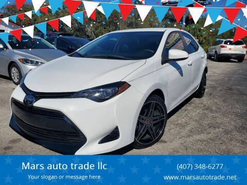 2018 Toyota Corolla for sale at Mars auto trade llc in Kissimmee FL