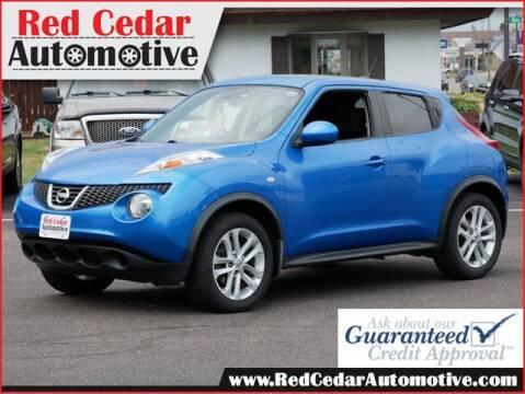 2011 Nissan JUKE for sale at Red Cedar Automotive in Menomonie WI