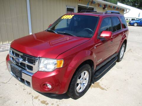 2008 Ford Escape for sale at Lincoln Way Motors II in Cedar Rapids IA