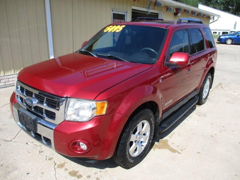 2008 Ford Escape for sale at Lincoln Way Motors II in Cedar Rapids IA