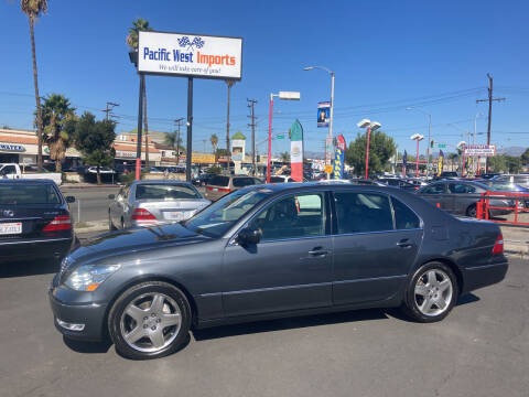 2006 Lexus LS 430 for sale at Pacific West Imports in Los Angeles CA