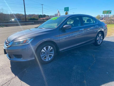 2013 Honda Accord for sale at Brian Jones Motorsports Inc in Danville VA