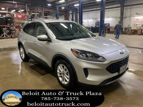 2020 Ford Escape for sale at BELOIT AUTO & TRUCK PLAZA INC in Beloit KS