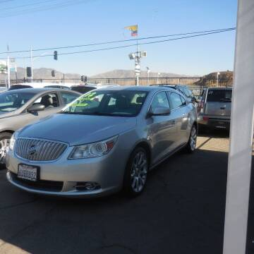 2012 Buick LaCrosse for sale at Luxor Motors Inc in Pacoima CA