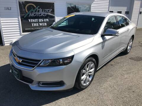 2017 Chevrolet Impala for sale at HILLTOP MOTORS INC in Caribou ME