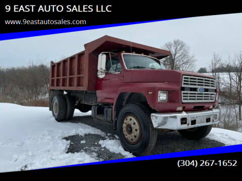 1986 Ford F-800 for sale at 9 EAST AUTO SALES LLC in Martinsburg WV