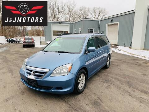 2007 Honda Odyssey for sale at J & J MOTORS in New Milford CT