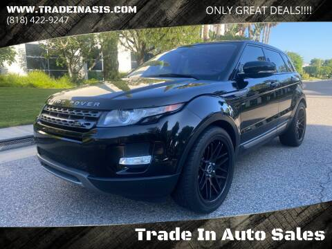 2013 Land Rover Range Rover Evoque for sale at Trade In Auto Sales in Van Nuys CA