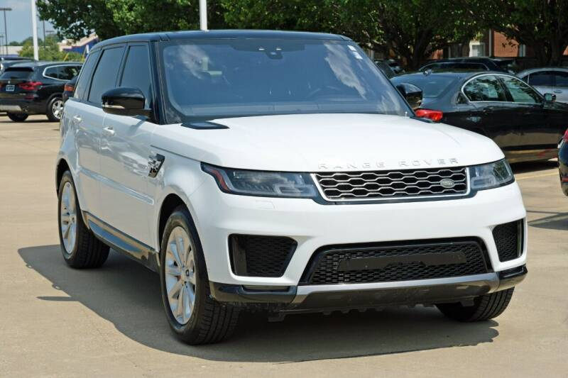 2018 Land Rover Range Rover Sport for sale at Silver Star Motorcars in Dallas TX