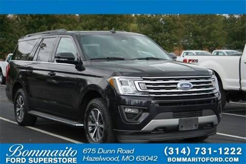 2019 Ford Expedition MAX for sale at NICK FARACE AT BOMMARITO FORD in Hazelwood MO