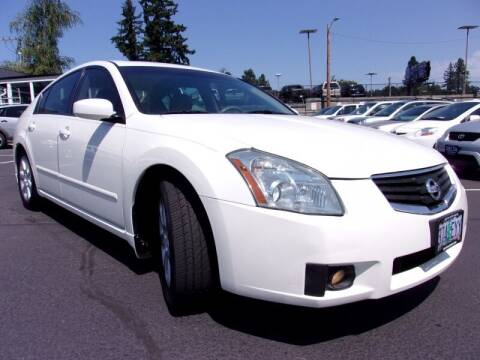 2007 Nissan Maxima for sale at Delta Auto Sales in Milwaukie OR