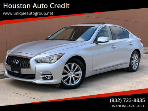 2014 Infiniti Q50 for sale at Houston Auto Credit in Houston TX