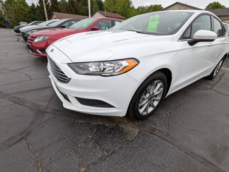 2017 Ford Fusion for sale at West Point Auto Sales in Mattawan MI