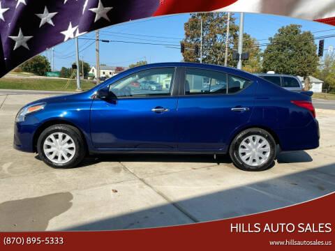 2019 Nissan Versa for sale at Hills Auto Sales in Salem AR
