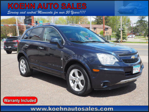 2014 Chevrolet Captiva Sport for sale at Koehn Auto Sales in Lindstrom MN