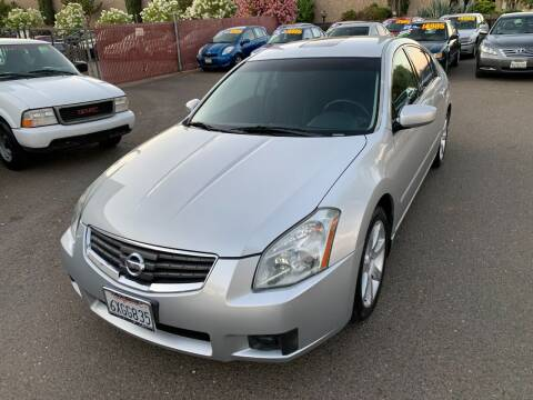 2008 Nissan Maxima for sale at C. H. Auto Sales in Citrus Heights CA