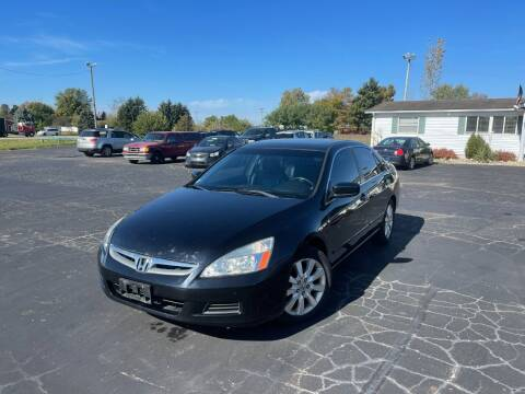 2007 Honda Accord for sale at Pine Auto Sales in Paw Paw MI