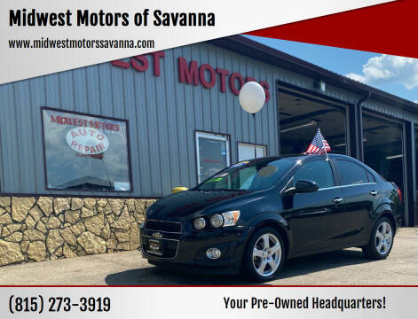 2016 Chevrolet Sonic for sale at Midwest Motors of Savanna in Savanna IL