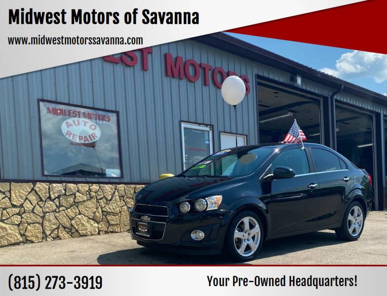 2016 Chevrolet Sonic for sale in Savanna, IL