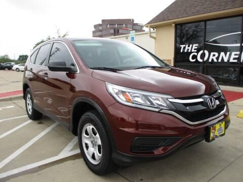 2015 Honda CR-V for sale at Cornerlot.net in Bryan TX