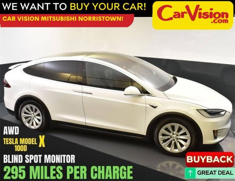 2017 Tesla Model X for sale at Car Vision Mitsubishi Norristown in Norristown PA