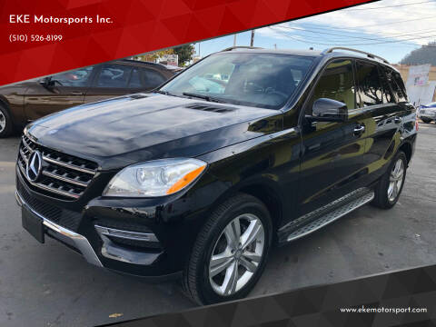 2015 Mercedes-Benz M-Class for sale at EKE Motorsports Inc. in El Cerrito CA