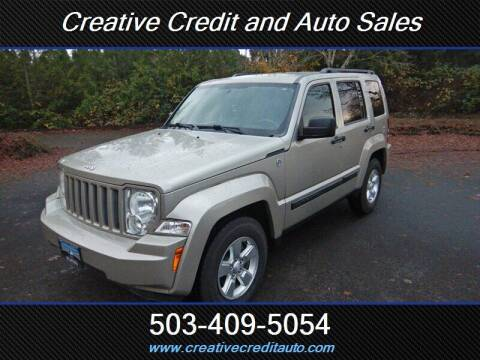 2011 Jeep Liberty for sale at Creative Credit & Auto Sales in Salem OR