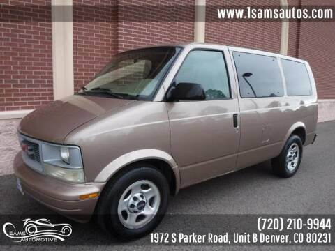 2005 GMC Safari for sale at SAM'S AUTOMOTIVE in Denver CO