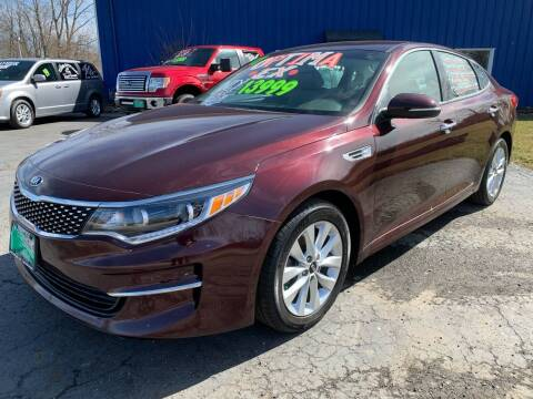 2017 Kia Optima for sale at FREDDY'S BIG LOT in Delaware OH
