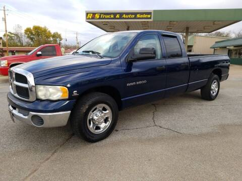 2003 Dodge Ram Pickup 2500 for sale at R & S TRUCK & AUTO SALES in Vinita OK