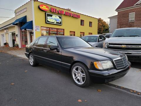1999 Mercedes-Benz S-Class for sale at Bel Air Auto Sales in Milford CT