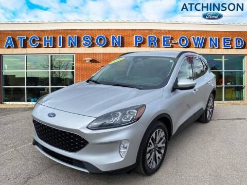 2020 Ford Escape Hybrid for sale at Atchinson Ford Sales Inc in Belleville MI