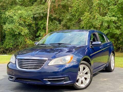 2013 Chrysler 200 for sale at Sebar Inc. in Greensboro NC