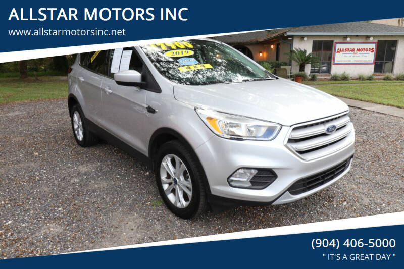 2019 Ford Escape for sale at ALLSTAR MOTORS INC in Middleburg FL