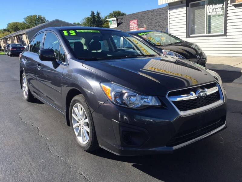 2013 Subaru Impreza for sale at OZ BROTHERS AUTO in Webster NY