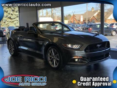 2017 Ford Mustang for sale at Mr Intellectual Cars in Shelby Township MI