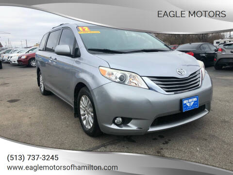 2012 Toyota Sienna for sale at Eagle Motors in Hamilton OH