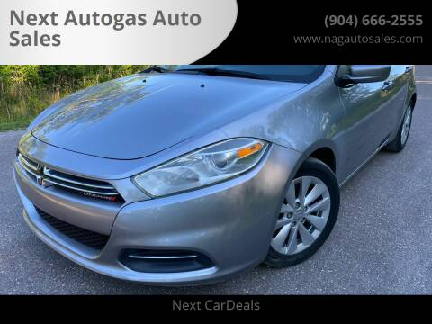 2015 Dodge Dart for sale at Next Autogas Auto Sales in Jacksonville FL