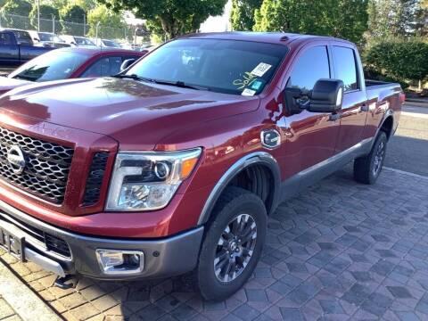 2016 Nissan Titan XD for sale at Royal Moore Custom Finance in Hillsboro OR