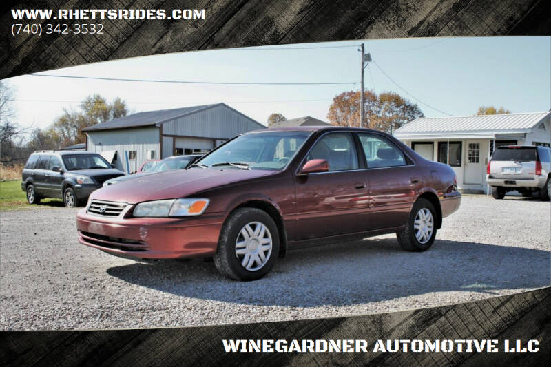 2001 Toyota Camry for sale at WINEGARDNER AUTOMOTIVE LLC in New Lexington OH