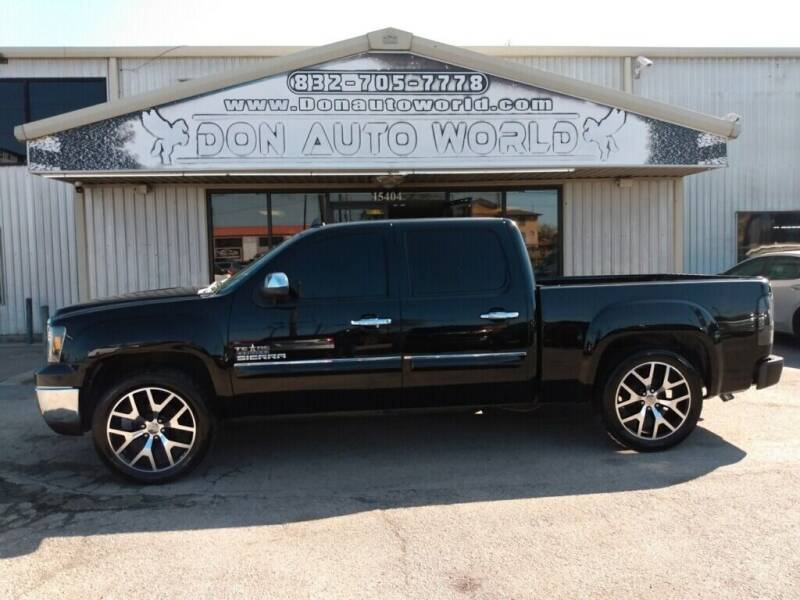 2013 GMC Sierra 1500 for sale at Don Auto World in Houston TX