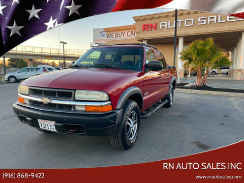 2004 Chevrolet S-10 for sale at RN Auto Sales Inc in Sacramento CA